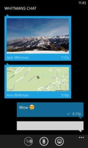 WhatsApp для Windows Phone
